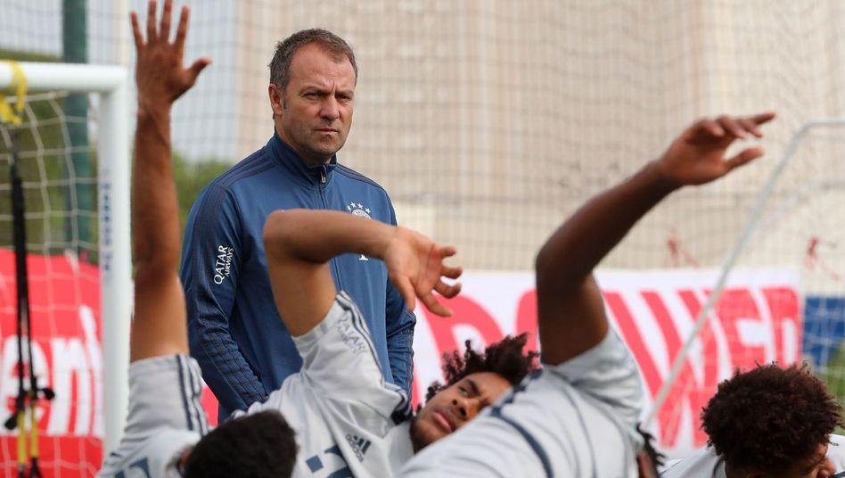 """Bayern-Trainer Hansi Flick: """"Brauchen einen Kader, der in der Tiefe genügend Substanz und Qualität besitzt"""""""