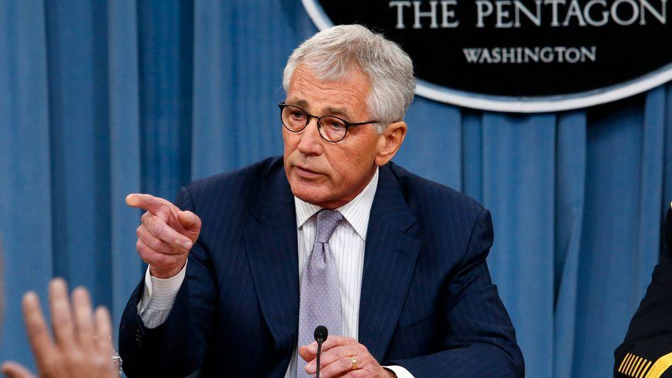Pentagon-Chef: Chuck Hagel sieht in IS-Miliz extreme Bedrohung der USA