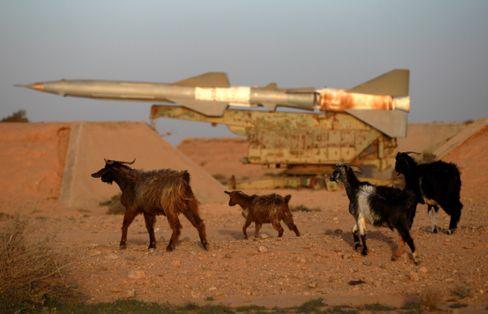 Boden-Luft-Rakete in Libyen