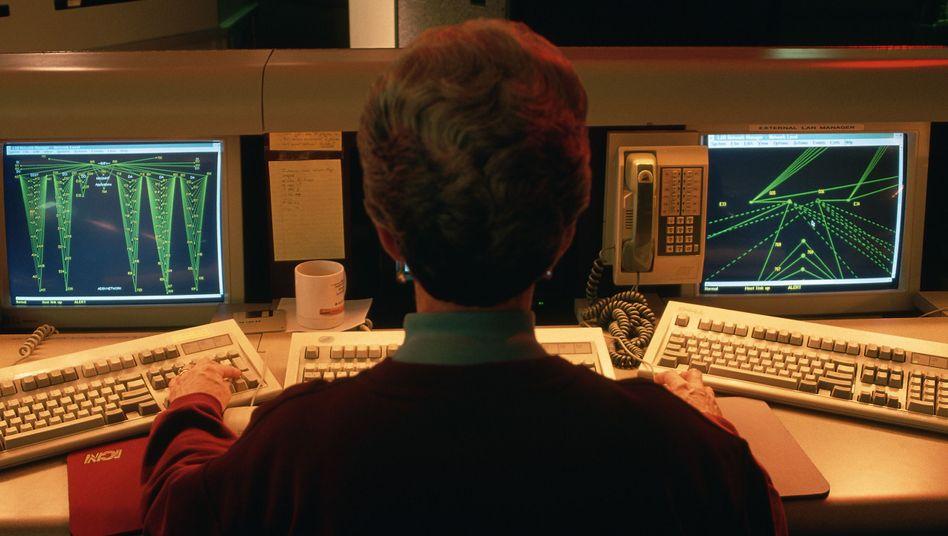 Netzwerkzentrale der CIA: Auch Geheimdienste sind von dem Hack betroffen