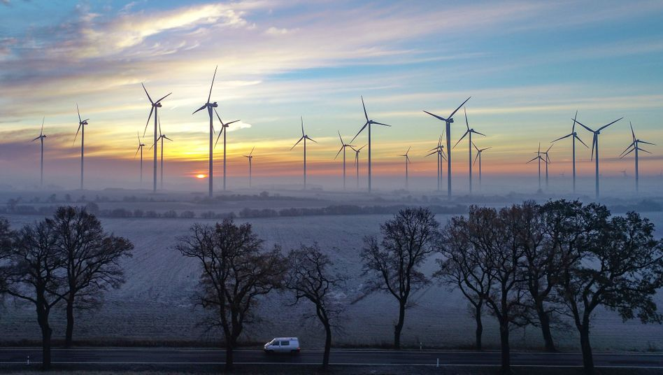 Windpark in Brandenburg: Branche in der Krise