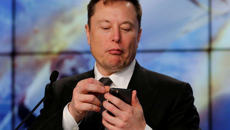 Tesla-Gründer Musk: Gewinnsprung in Minuten