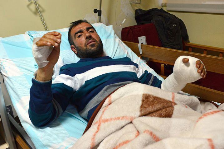 Verletzter Halis Karsu