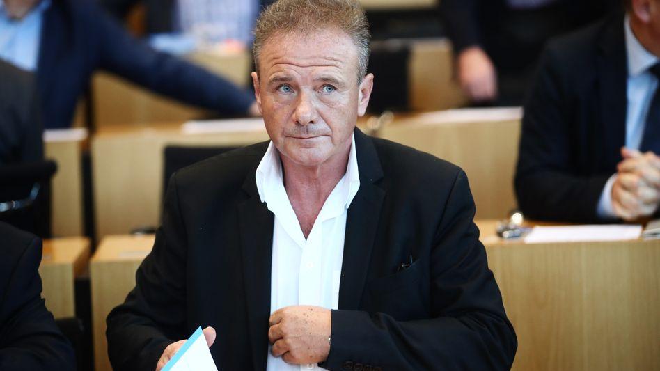 Thüringer CDU-Abgeordneter Heym: Neben ihm haben drei weitere Fraktionsmitglieder Bedenken gegen die Selbstauflösung geäußert