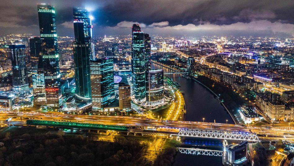 """Businessviertel """"Moscow City"""""""