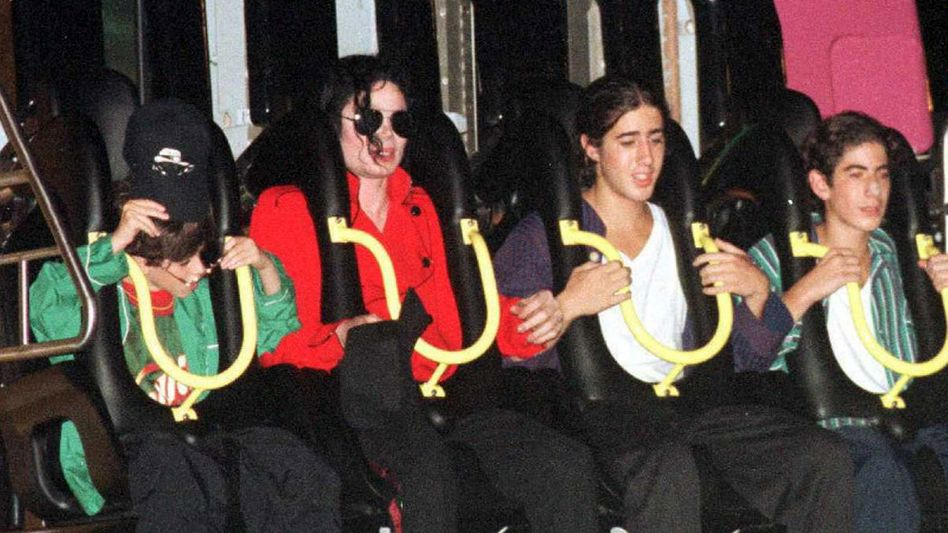 Michael Jackson in Vergnügungspark in Brunei