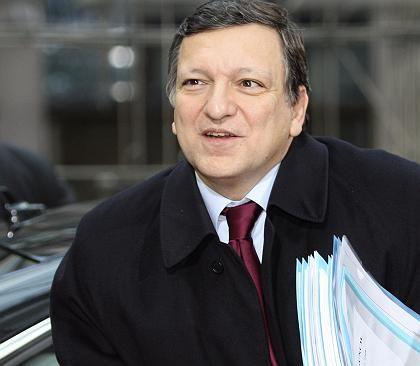Zeigte sich schon vor Beginn des Gipfels optimistisch: EU-Kommissionspräsident Jose Manuel Barroso