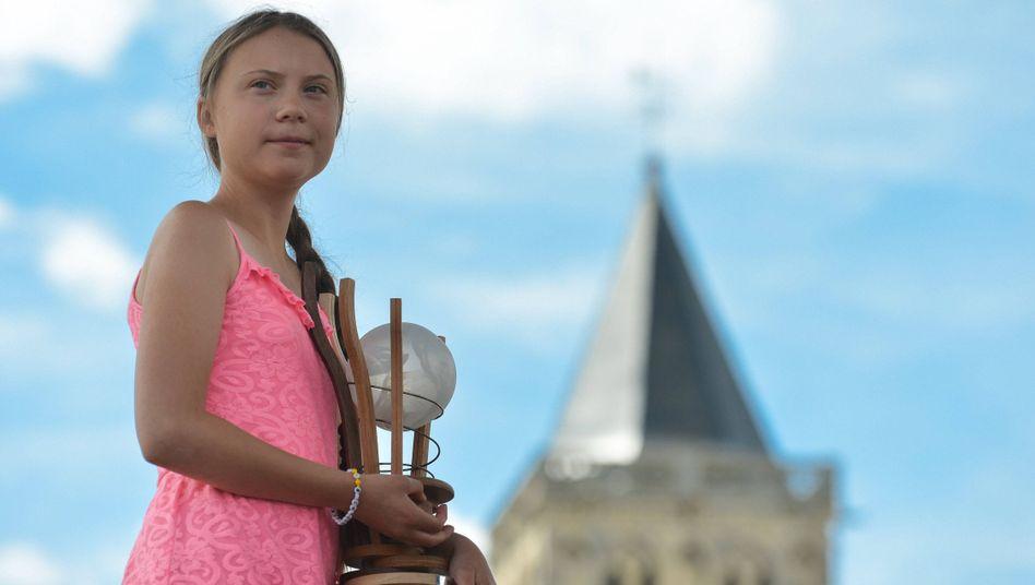 Ausgezeichnet: Greta Thunberg mit dem Prix Liberté im französischen Caen