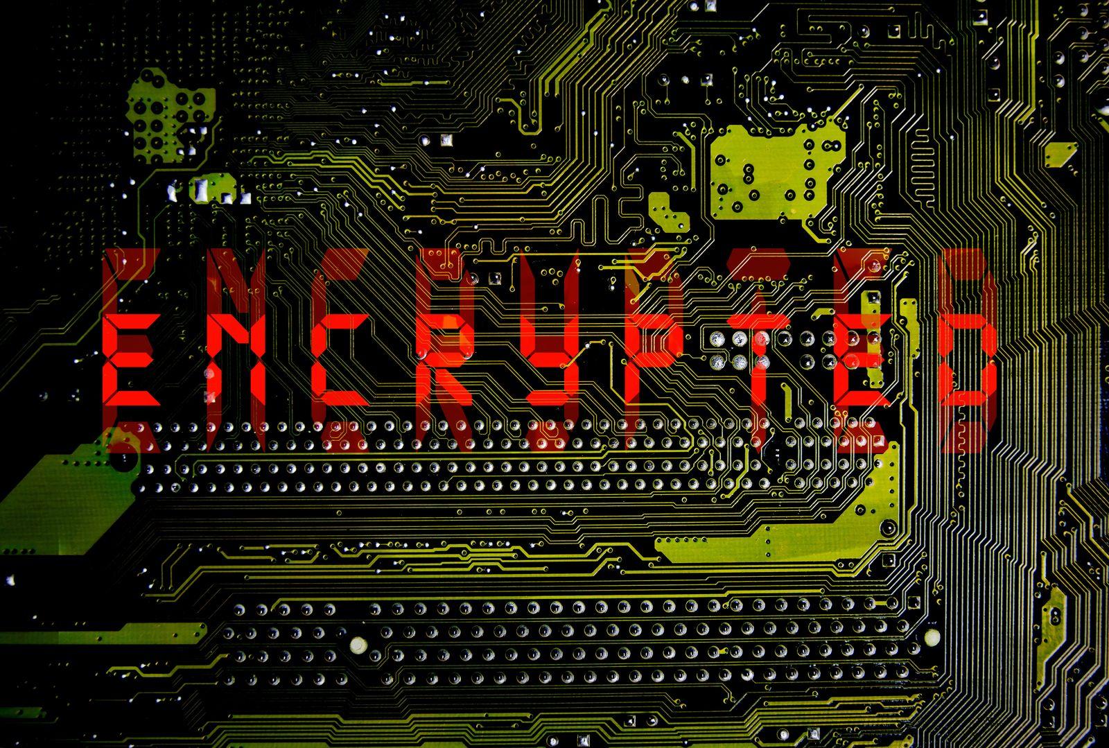 EINMALIGE VERWENDUNG Ransomware/ Virus/ Encrypted