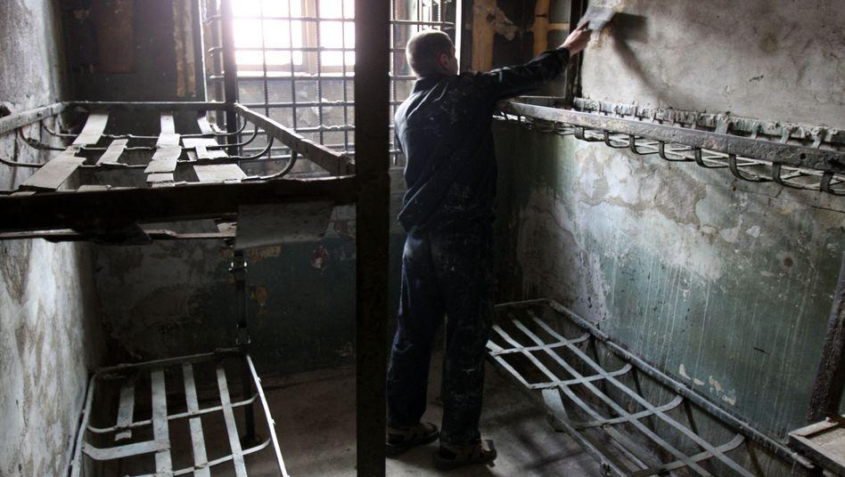 Ein historisches Gefängnis in St. Petersburg