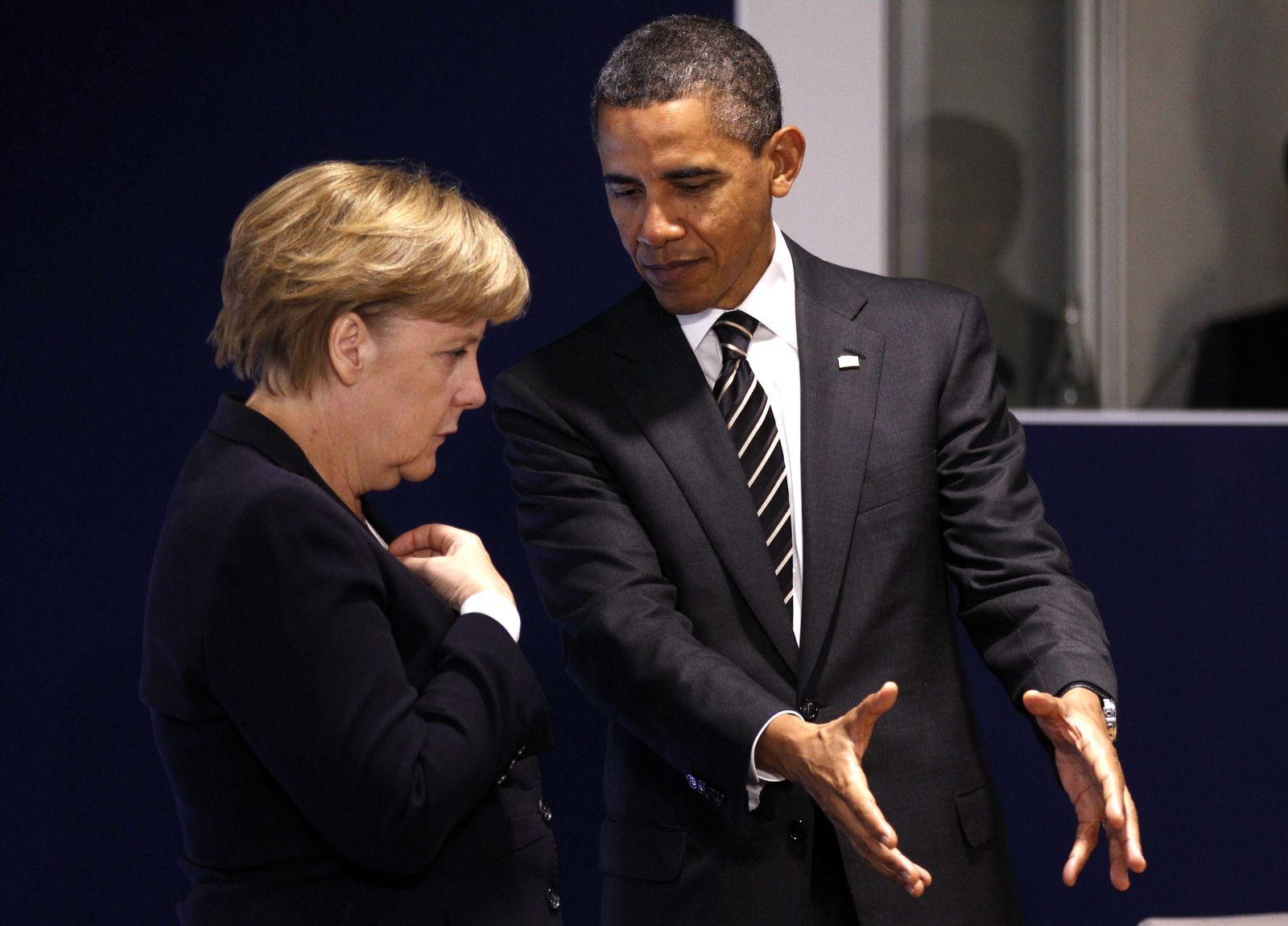 Obama / Merkel