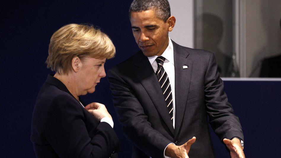 US-Präsident Obama, Kanzlerin Merkel: Die Daten nach Hause holen
