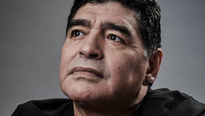 Diego Maradonas Karriere in Bildern: Brillant und fehlbar