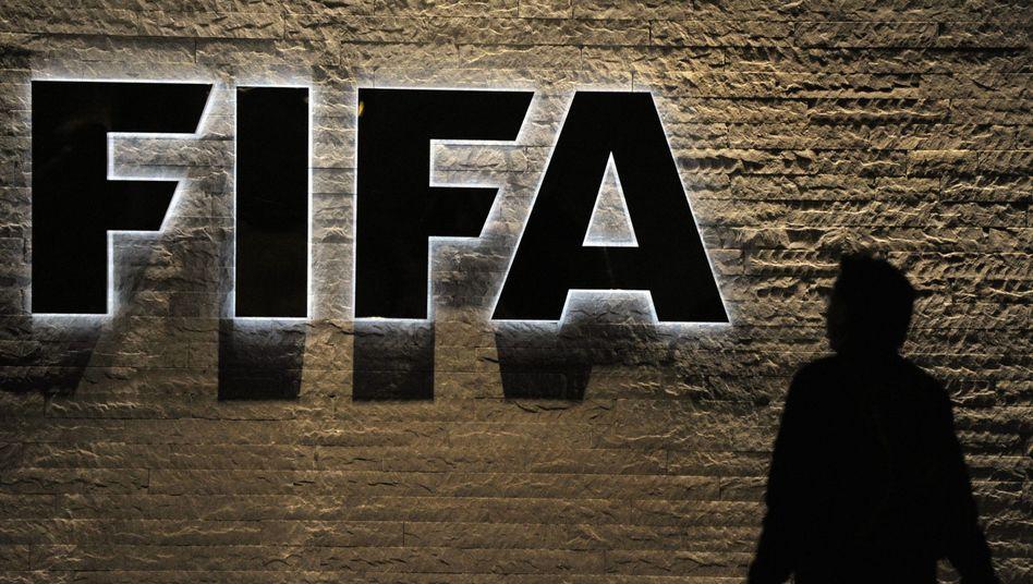 Fifa-Logo (in Zürich): Mehr als eine Milliarde Euro Reserven