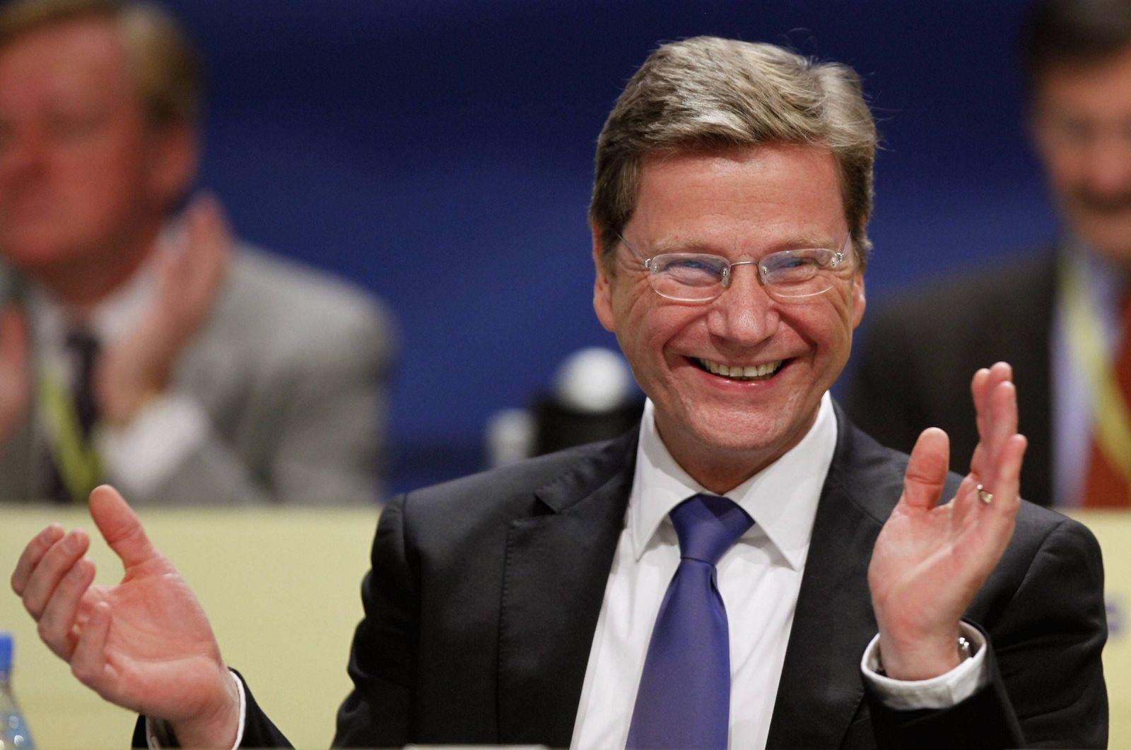 NICHT VERWENDEN Westerwelle FDP-Bundesparteitag