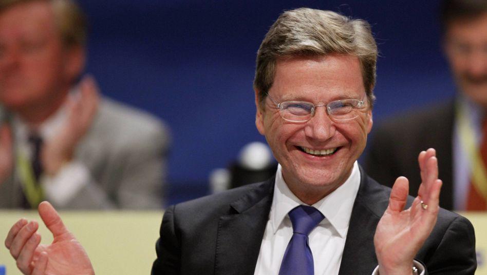 Guido Westerwelle: Der FDP-Vorsitzende setzt seit langem auf niedrigere Steuern