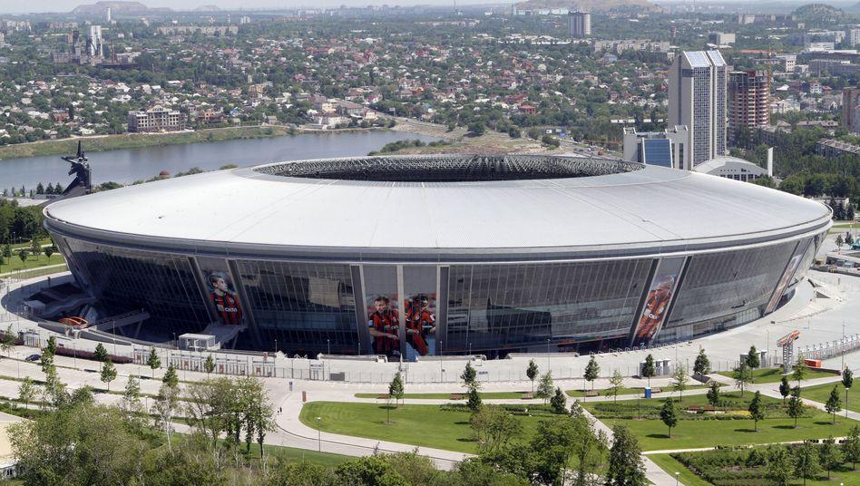Donbass-Arena (Archivbild): Schwere Schäden durch Kämpfe