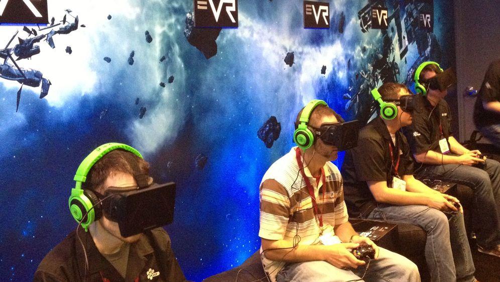 """""""Eve VR"""": Weltraumschlacht mit der Datenbrille Oculus Rift"""