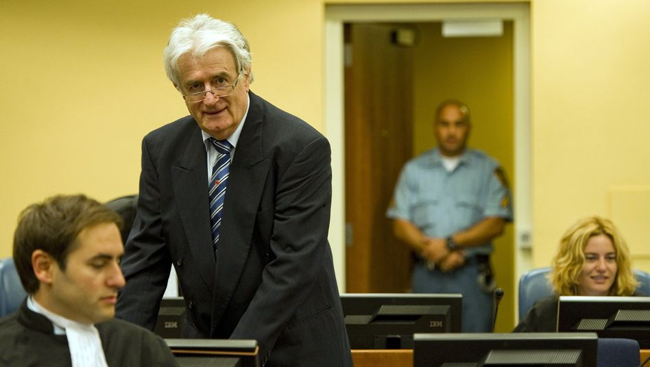 """Radovan Karadzic in Den Haag: """"Das einzig angemessene Strafmaß"""""""