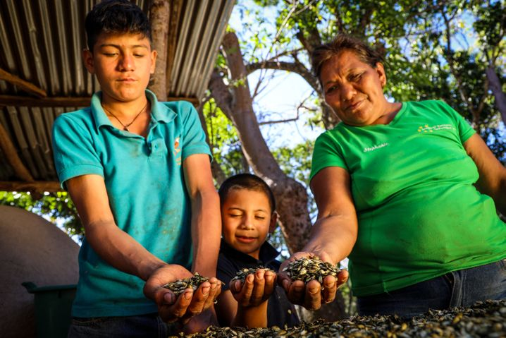 Vocational training and local networks can help small farmers escape poverty.
