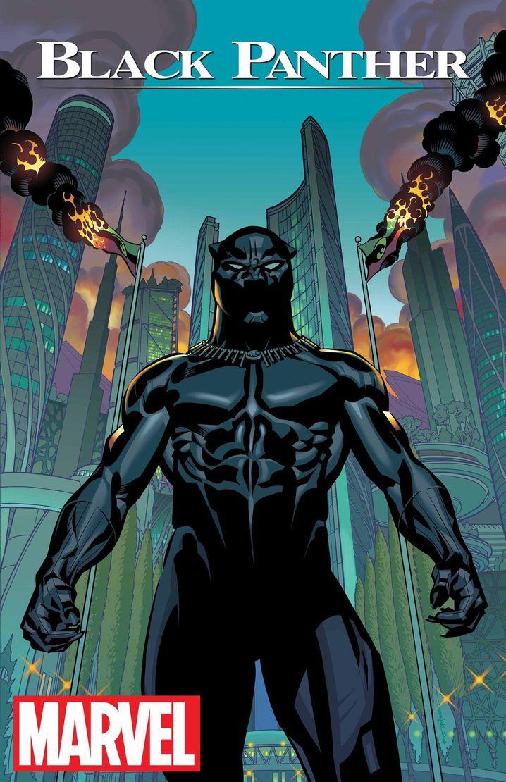 """Cover der ersten """"Black Panther""""-Ausgabe"""