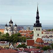 Estonian capital city Tallinn: For the former Soviet state, the scandal has become the downside of a political success story.