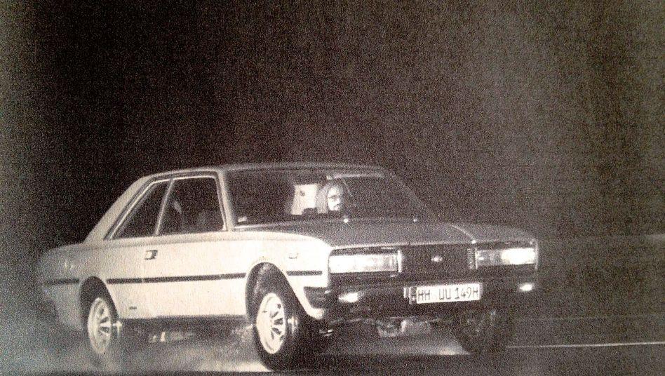 Friseur im Fiat: Das Lieblingsfoto von Oliver Giemza stammt von der Autobahnwache