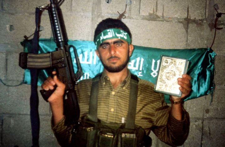 Hamas-Attentäter Masri: Er sprengte sich am 9. August 2001 in einem Restaurant im Zentrum Jerusalems in die Luft