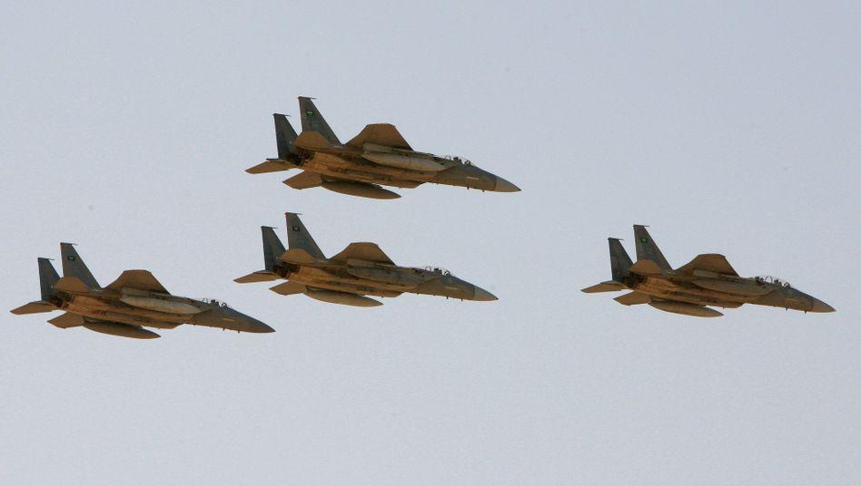 F-15 Bomber der saudi-arabischen Luftwaffe (Archivbild)