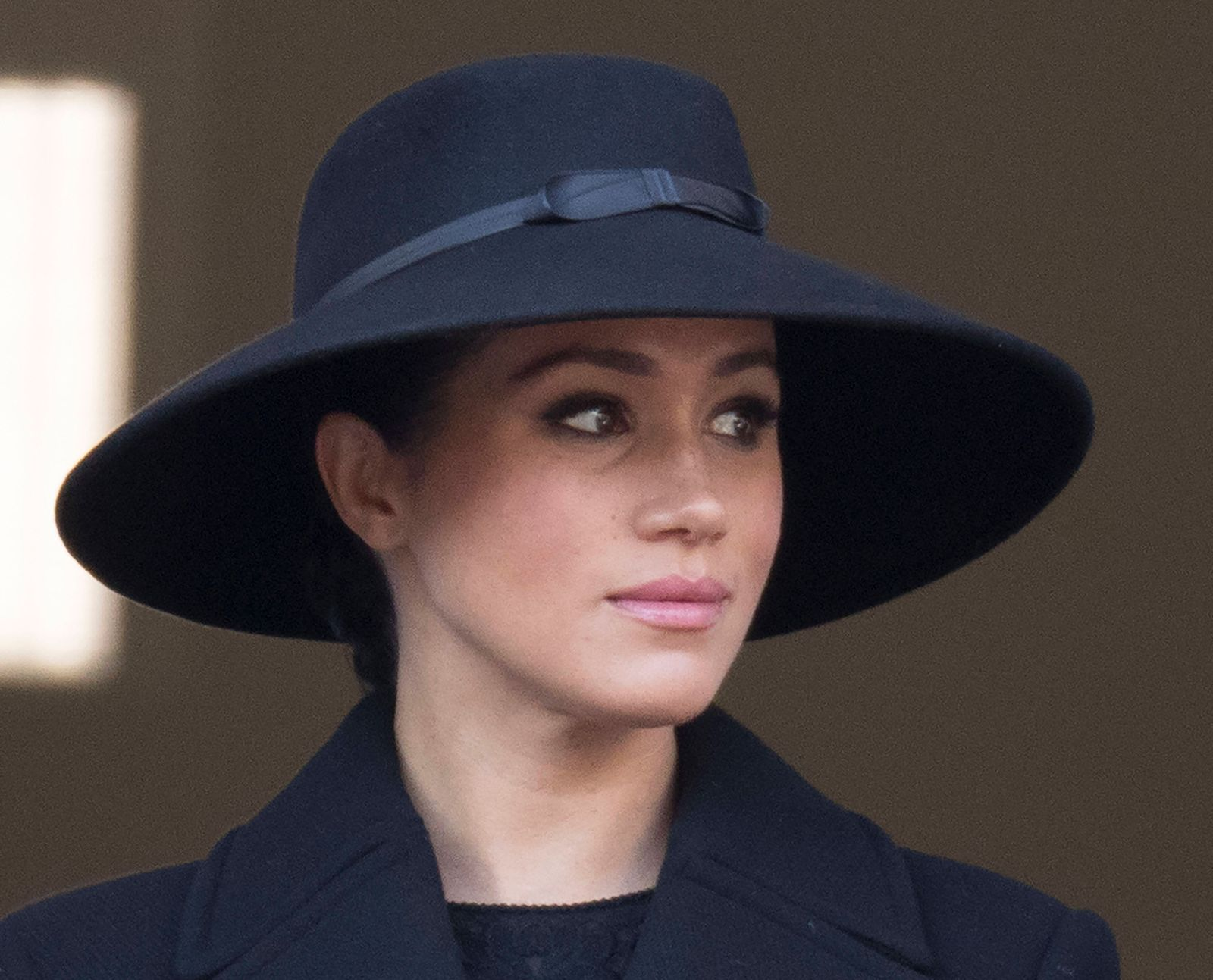 . 10/11/2019. London, United Kingdom. Meghan Markle, Duchess of Sussex at the Remembrance Sunday service at The Cenotaph