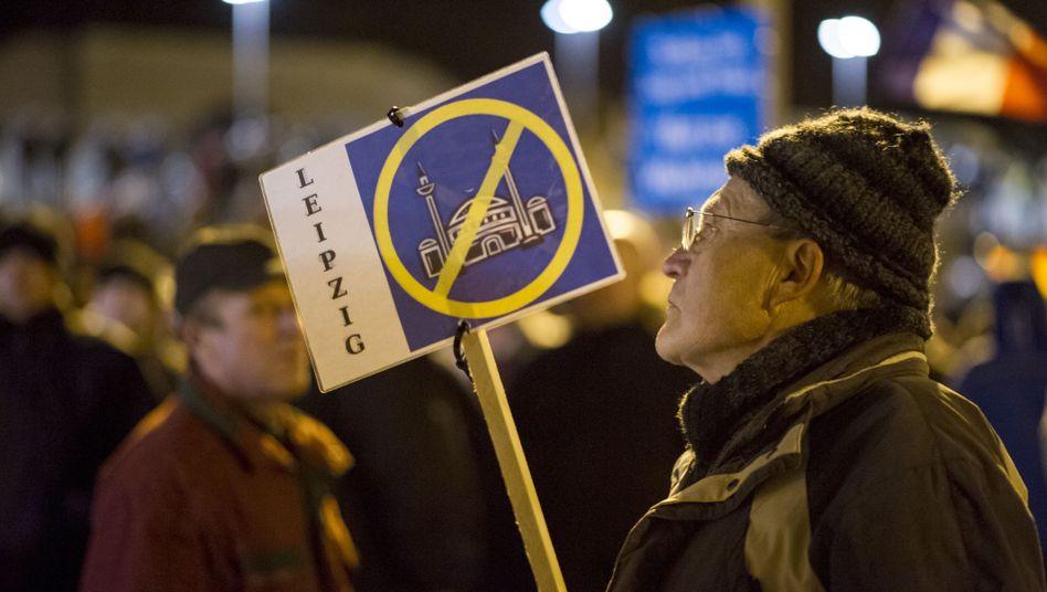 Legida-Demonstrant in Leipzig: Zu viel Zeit und Geld?