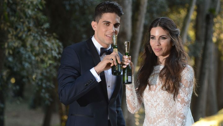 Zwei Monate nach dem Anschlag: BVB-Spieler Marc Bartra hat geheiratet