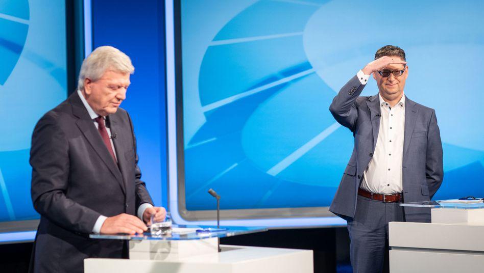 Volker Bouffier (CDU), Thorsten Schäfer-Gümbel (SPD)