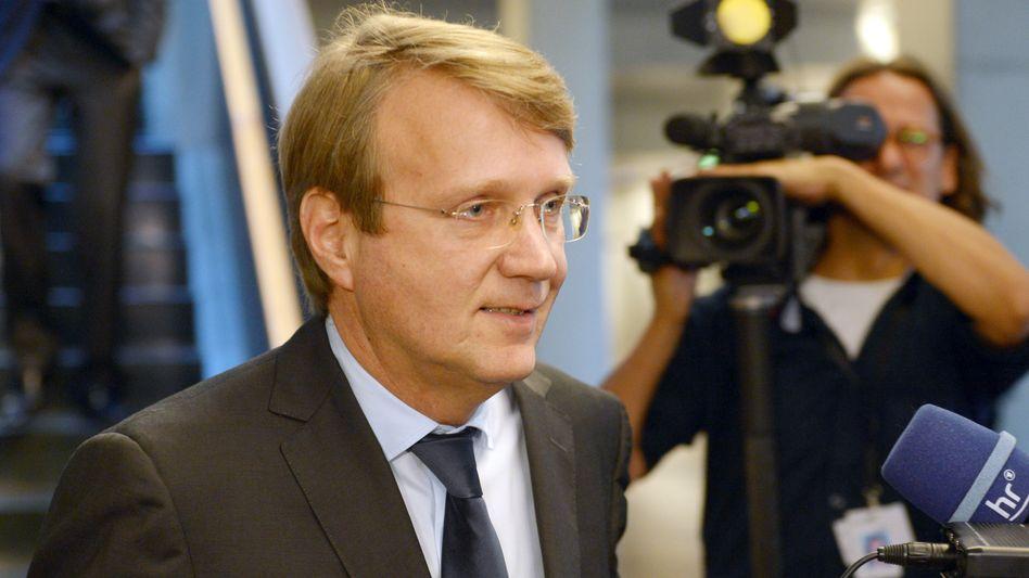 "Ex-Kanzleramtsminister Pofalla: ""Thank You for choosing Deutsche Bahn"""