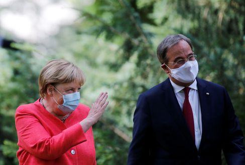 Angela Merkel, Armin Laschet