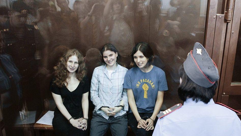 Punk-Band Pussy Riot vor der Urteilsverkündung am Freitag: »Ein geradezu heidnischer Akt der Rache«