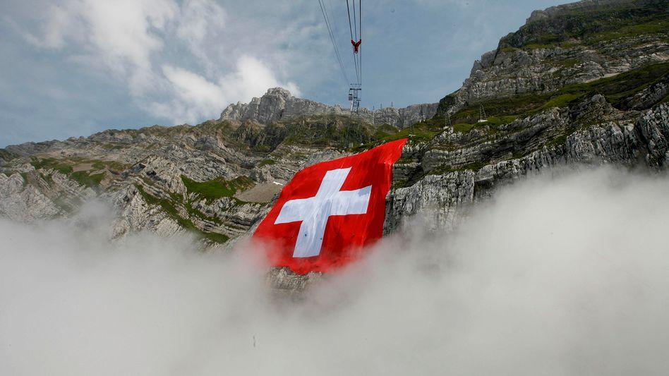 Over the weekend Switzerland issued arrest warrants for German tax officials.