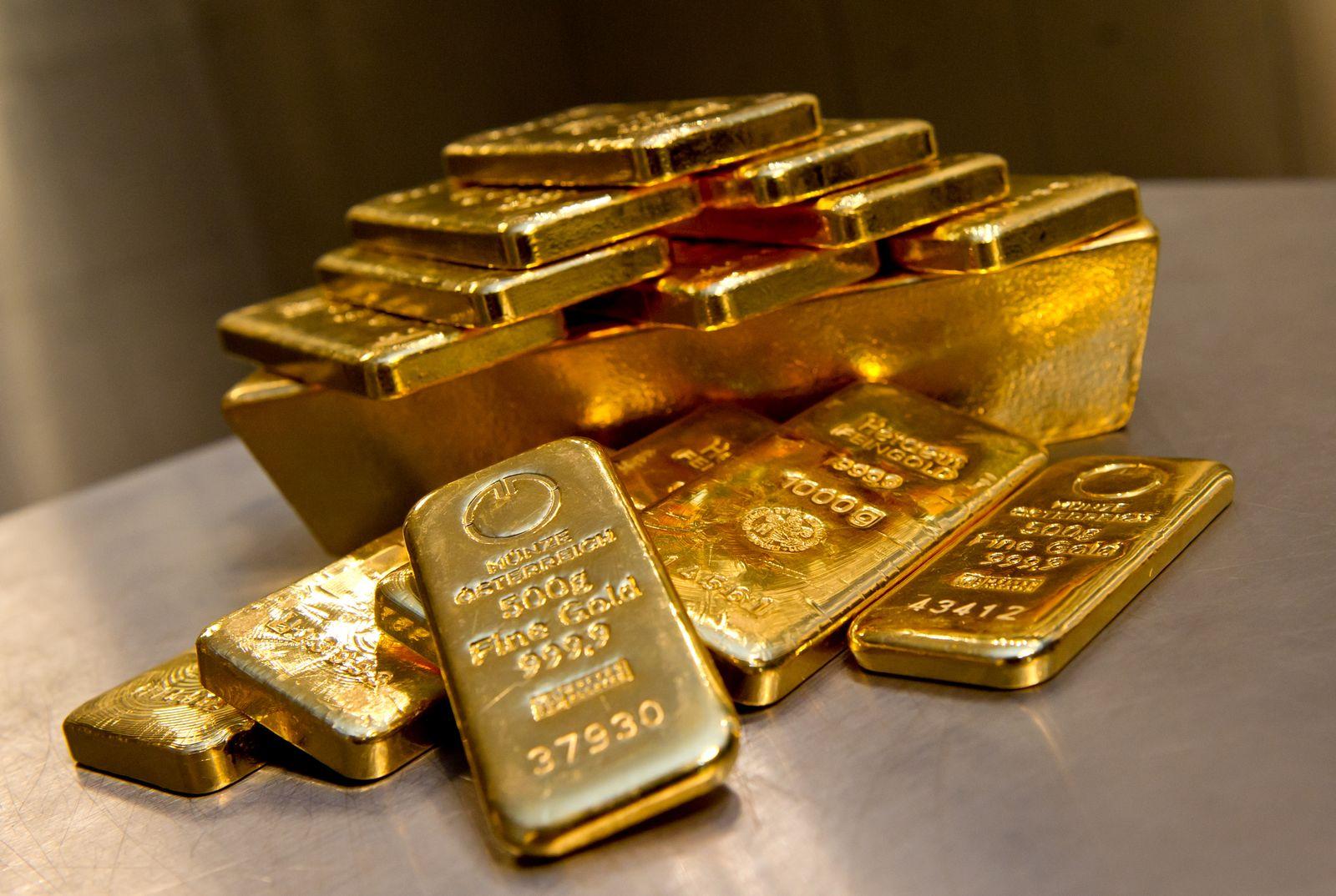 Goldbarren / Gold / Goldpreis