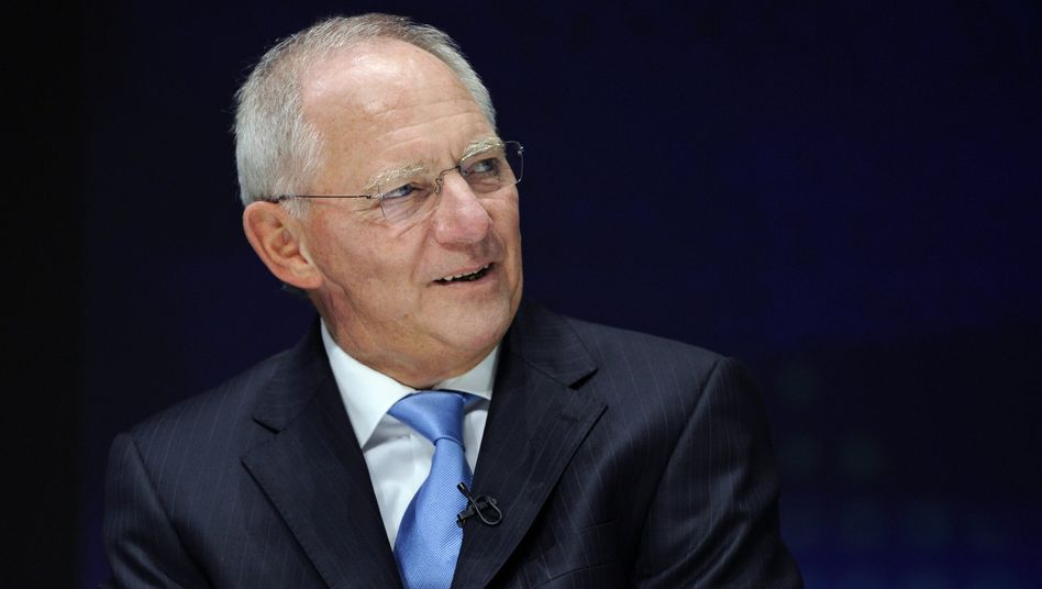 """Finanzminister Schäuble: """"I think there will be no Staatsbankrott in Greece"""""""