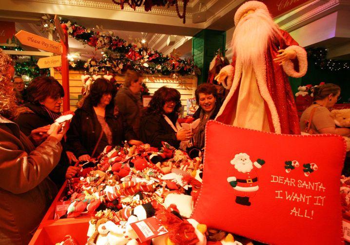 Weihnachtsshoppen in New York