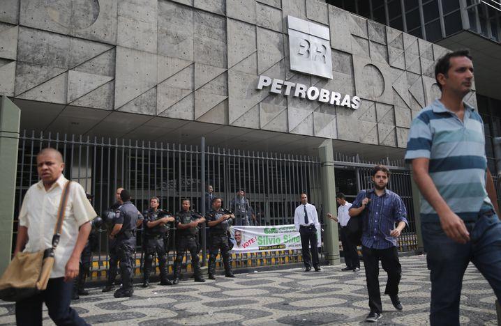 Korrupt und mit Verlust: Ölkonzern Petrobas