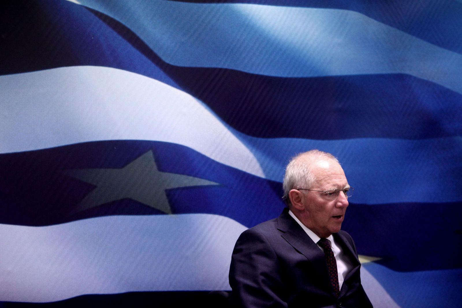 Schäuble/ Griechenland