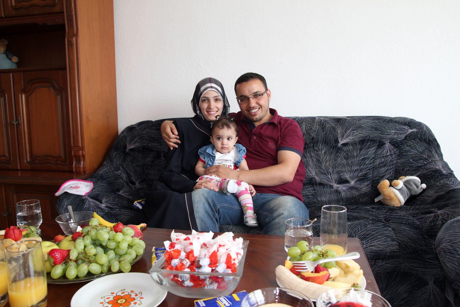 EINMALIGE VERWENDUNG Parchim/ Flüchtlinge/ Syrien