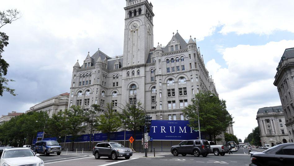 Trump-Hotel in Washington (Foto: vermutlich japanische Kamera)