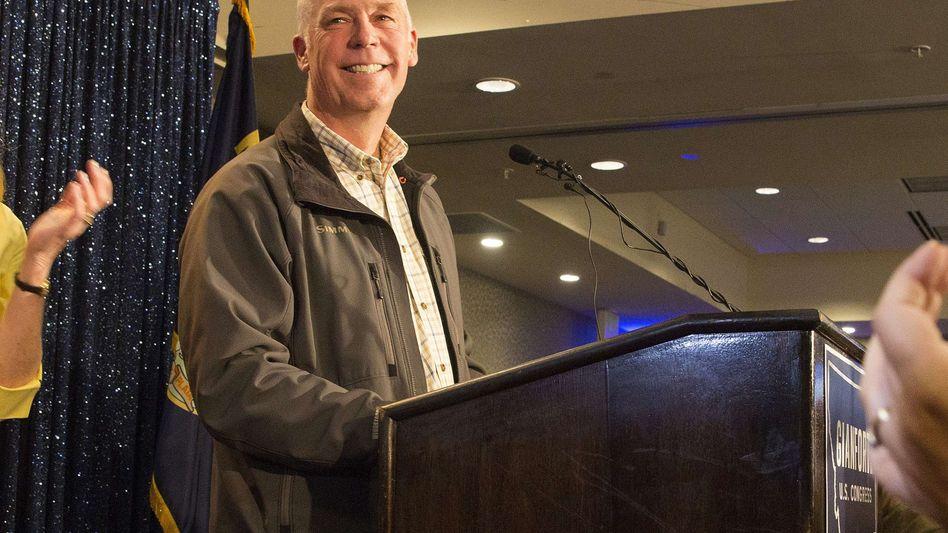 Greg Giangorte in Bozeman, Montana