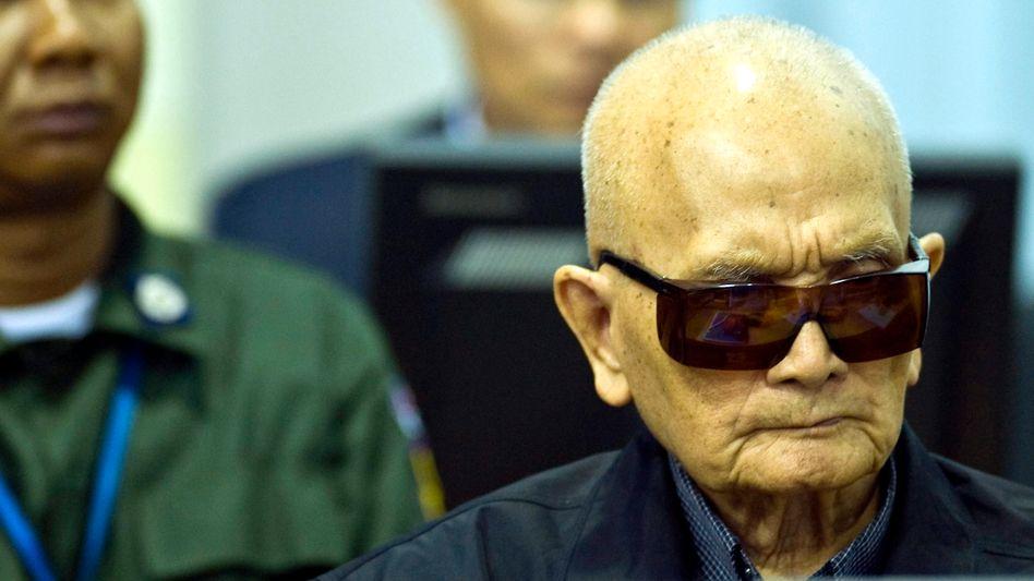 Pol Pots Ex-Stellvertreter vor Gericht: Nuon Chea hat Berufung eingelegt