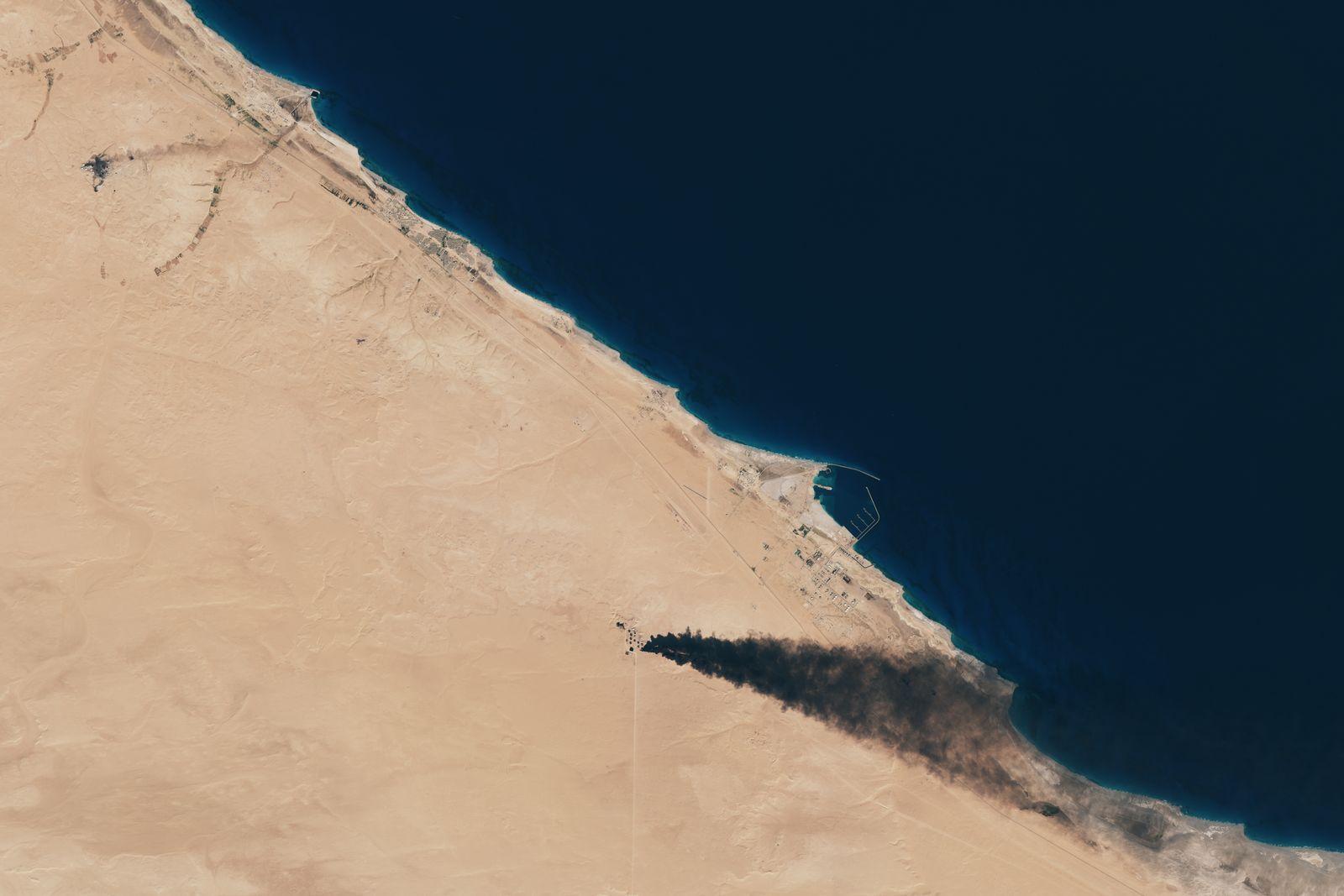 EINMALIGE VERWENDUNG SATBILD/ Libyen