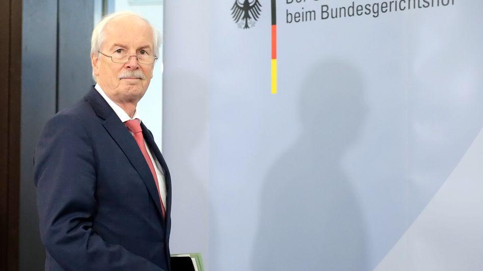 German Federal Prosecutor Range: a false impression on SPIEGEL reporting