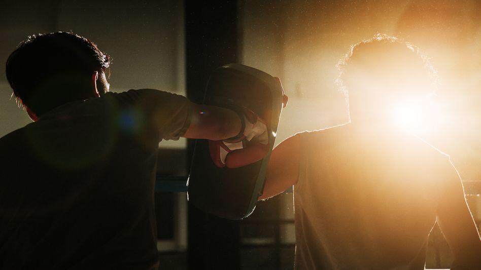 Im Boxring fühlt Lorenz sich lebendig