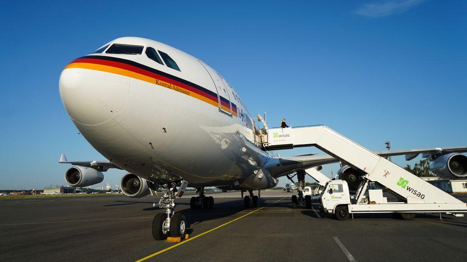 "Regierungs-Airbus A340 ""Konrad Adenauer"" (Archivbild)"